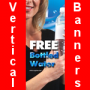 Vertical Banners by laundromatpromotions.com